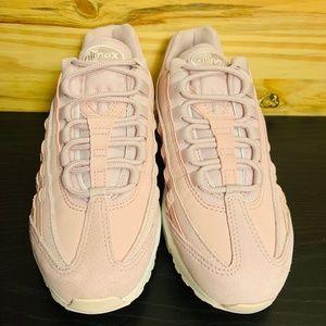 Nike Shoes - New Nike Air Max 95 Premium Light Rose Running